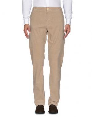 Повседневные брюки MOLO ELEVEN. Цвет: песочный