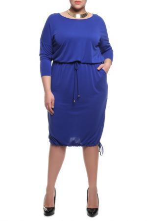 Платье Forus. Цвет: электрик