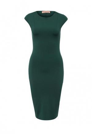 Платье TrendyAngel. Цвет: зеленый