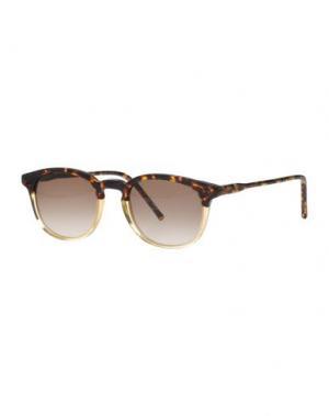 Солнечные очки KYME. Цвет: темно-коричневый