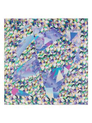 Платок Eleganzza. Цвет: салатовый, голубой, лиловый, светло-желтый, сиреневый, фиолетовый