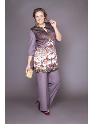 Жакет Lady Sharm Classic. Цвет: темно-бежевый
