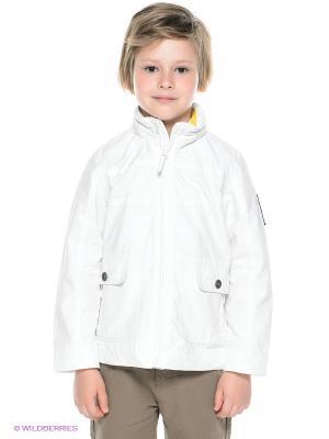 Куртка CHICCO. Цвет: белый