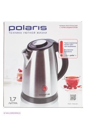 Чайник PWK1765CAR 1.7л. 2200Вт Polaris. Цвет: серебристый