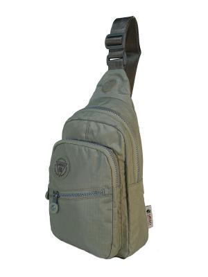 Рюкзак однолямочный Yeso (Outmaster). Цвет: светло-серый