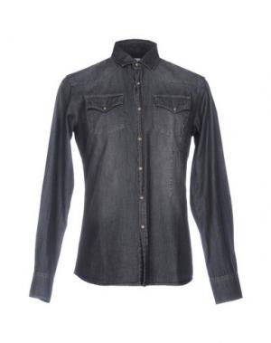 Джинсовая рубашка AUTHENTIC ORIGINAL VINTAGE STYLE. Цвет: черный