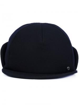 X Mackintosh cap Maison Michel. Цвет: синий