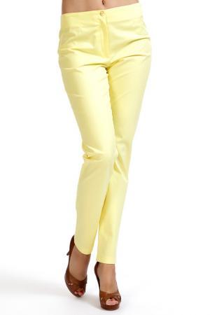 Брюки Isaco & Kawa. Цвет: yellow