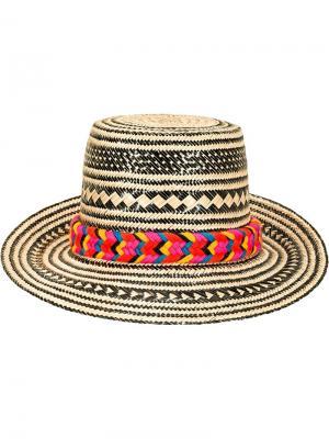 Шляпа Tulum Yosuzi. Цвет: чёрный