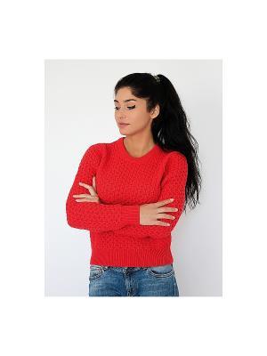 Джемпер Wooly's. Цвет: красный