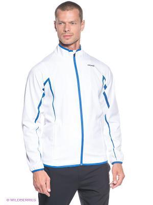 Куртка Wave Woven Jacket HEAD. Цвет: белый, синий