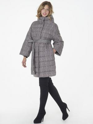 Пальто CATTAIL WILLOW. Цвет: серый