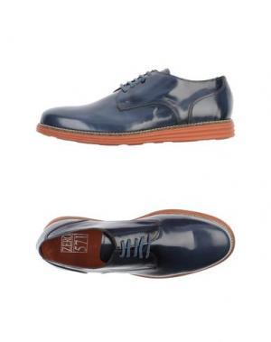 Обувь на шнурках ZERO_571. Цвет: грифельно-синий