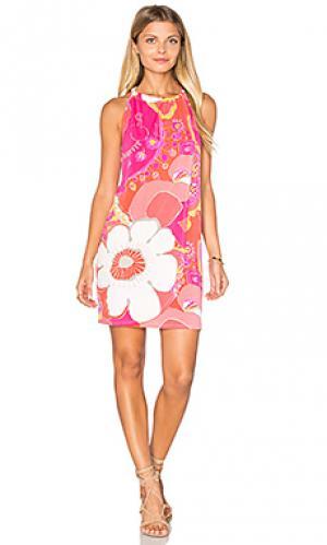Платье juju Trina Turk. Цвет: розовый