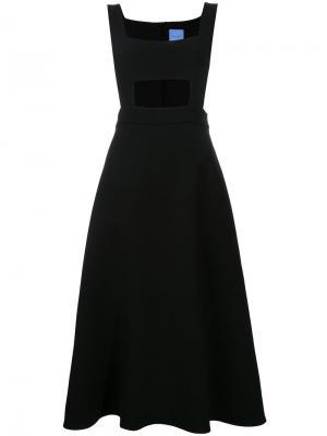 Платье-фартук Antoinette Macgraw. Цвет: чёрный