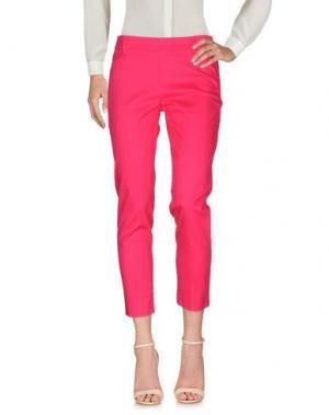 Повседневные брюки KARTIKA. Цвет: фуксия