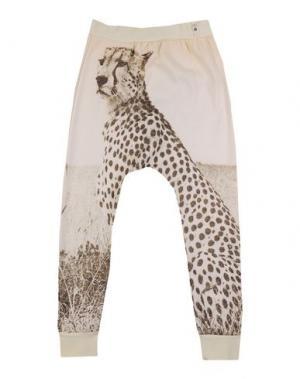 Повседневные брюки POPUPSHOP. Цвет: бежевый