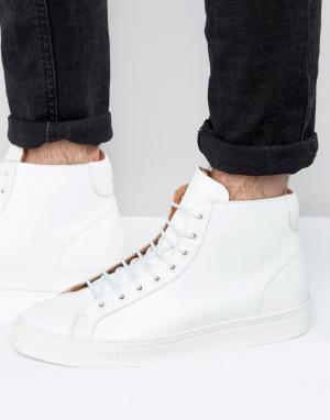 Frank Wright Белые высокие кроссовки Logan. Цвет: белый