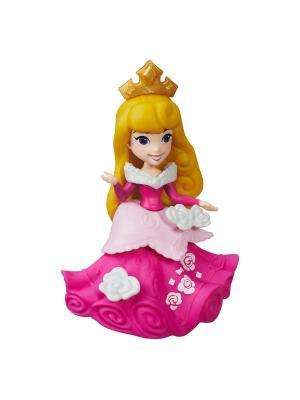 Маленькая кукла-принцесса Hasbro. Цвет: бледно-розовый, розовый, желтый