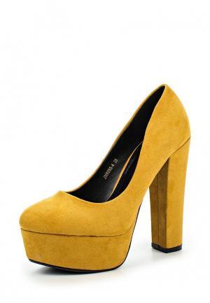 Туфли Sweet Shoes. Цвет: коричневый