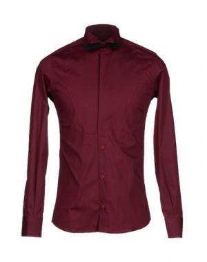 Pубашка MNML COUTURE. Цвет: красно-коричневый