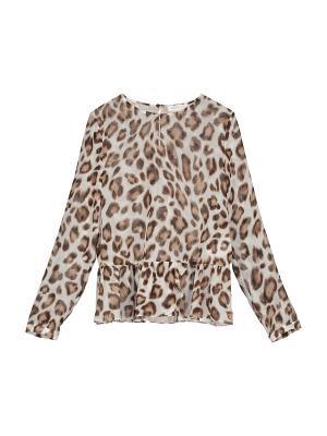 Блуза St.Emile. Цвет: коричневый
