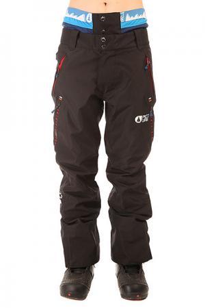 Штаны сноубордические  Base Black Picture Organic. Цвет: черный