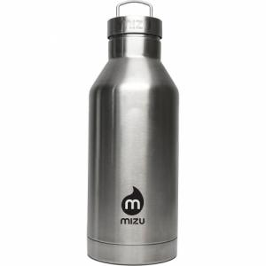 Термобутылка Для Воды MIZU. Цвет: stainless w black print & steel cap