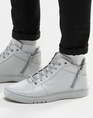 Creative Recreation Средние кроссовки Adonis. Цвет: серый