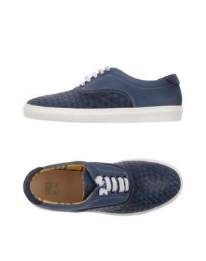 Низкие кеды и кроссовки YAB. Цвет: грифельно-синий