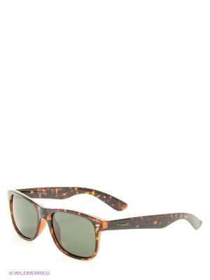 Солнцезащитные очки Polaroid. Цвет: коричневый, зеленый