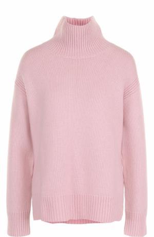 Кашемировый свитер свободного кроя Windsor. Цвет: розовый