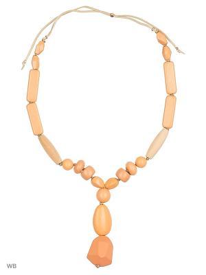 Колье L'Art Bijoux. Цвет: оранжевый