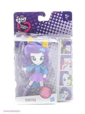 Equestria Girls мини-кукла Hasbro. Цвет: голубой, лиловый, желтый