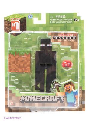 Фигурка с аксессуарами Странник края Minecraft. Цвет: черный, коричневый