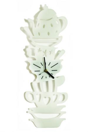 Часы Сервиз W-ERA. Цвет: белый