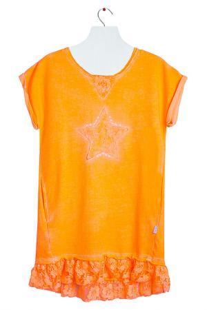 Туника Orby. Цвет: оранжевый