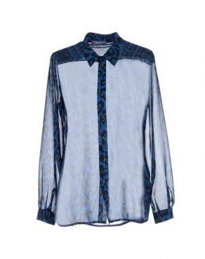 Pубашка DANIELA FARGION. Цвет: синий