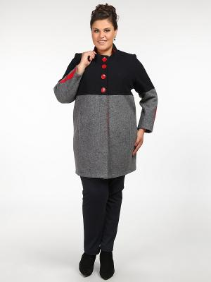 Пальто Silver-String. Цвет: серый