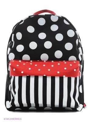 Рюкзак ANTAN. Цвет: черный, красный, темно-зеленый