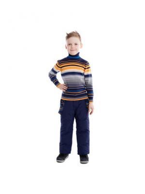 Свитер PlayToday. Цвет: синий, оранжевый, белый