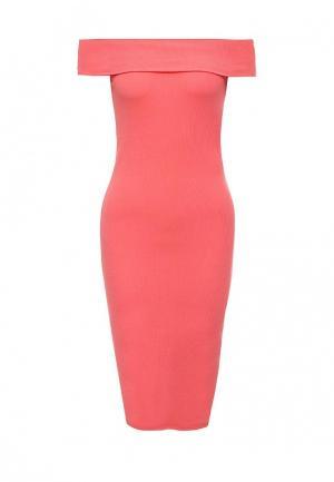 Платье Befree. Цвет: коралловый