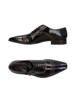 Обувь на шнурках DÉBUT. Цвет: черный