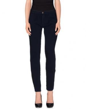 Повседневные брюки PRAIO. Цвет: темно-синий