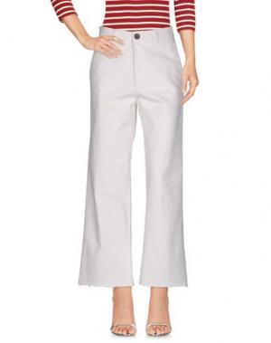 Джинсовые брюки LEON & HARPER. Цвет: белый
