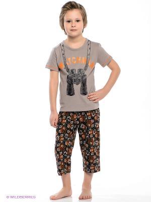 Пижама Vis-a-vis. Цвет: коричневый