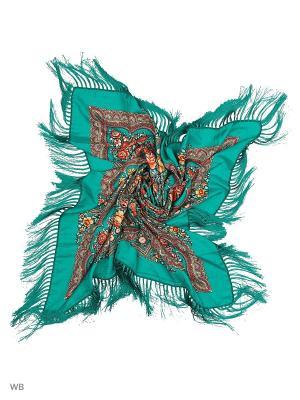 Платок Pur. Цвет: бирюзовый