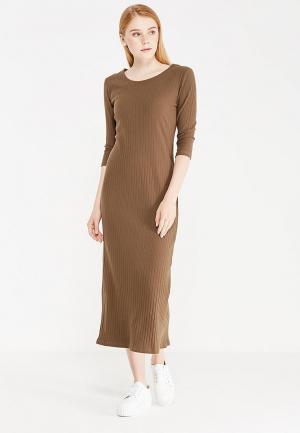 Платье Miss & Missis. Цвет: хаки