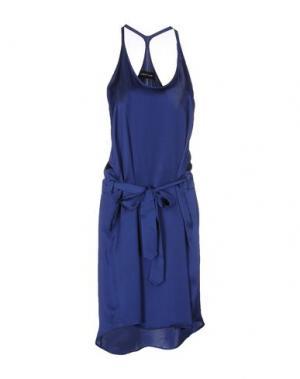 Платье до колена DAMIR DOMA. Цвет: синий