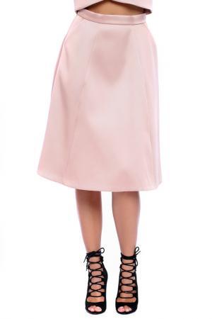 Юбка Moda di Chiara. Цвет: розовый
